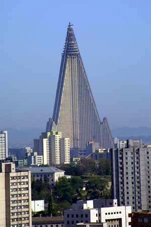 Отель Рюгён в Пхеньяне